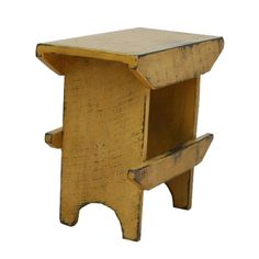 tabacco shed wood primitive furniture | Bucket Bench-Country Rustic Primitive Furniture
