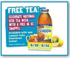 7-Eleven: FREE 16oz Snapple Coupon