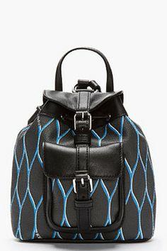 KENZO Black Leather-Trimmed Mini Backpack on shopstyle.com                         descargar musica mp3 gratis