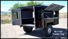 These are picutres of OffRoad and bugout trailers. Perfect for getting out of town and living off the grid while shit blows over. Images are from the internet for reference purposes. Work Trailer, Trailer Tent, Off Road Trailer, Off Road Utility Trailer, Custom Trailers, Cargo Trailers, Camper Trailers, Travel Trailers, Off Road Camping