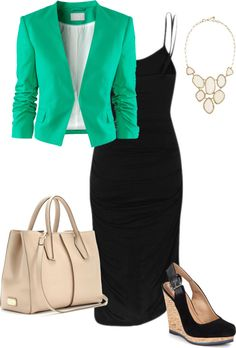 """Black Maxi Dress - Daytime"" by tullyforrester on Polyvore"