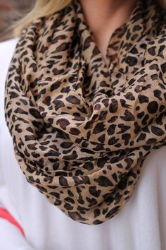 Stylist  I just bought a scarf like this and would to find tops to accessorize with it! 10/4