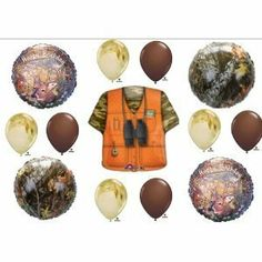 Deer Hunting hunters Party Balloons Decorations Supplies by Anagram, http://www.amazon.com/dp/B00607EJ8Q/ref=cm_sw_r_pi_dp_tBaGrb0WEMEZN