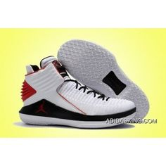 half off 3354d f2e50 2017 Air Jordan 32 Xxx2 White Black Red Best, Price   90.47 - adidas shoes,  adidas sneakeers, cheap adidas shoes online
