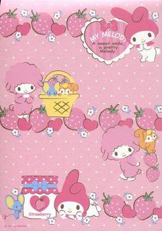 Sanrio My Melody 8 Design Memo Pad 1