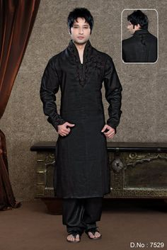 This range of sherwani 6 is exclusively hand embroidered with zardozi and dabka work is teamed up with collar and patch work motifs to adorn the look of the wearer. Available in hues of red, green, blue and gold, one can have it customized according to taste and choice. These fabulously designed sherwanis are sure to act as the centre of attraction of any occasion.