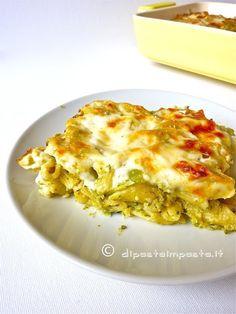 Di pasta impasta: Timballo di pasta con broccoli siciliani