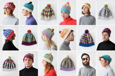 New ALL hats with some of my friends in Minneapolis modelling!  http://www.allforeveryone.com/projects/all-hats/