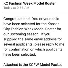 Look who made it in the model book for KCFW! Designers I'm #7 on roster!  #kcfw #model #fashion #fashionshow #designer #kansascity by tpesch