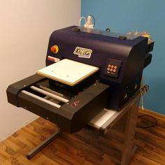 Stampante per tessuti dtg kiosk 3