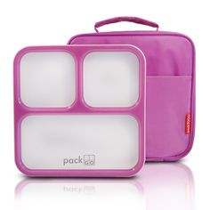 Slimline Bento Lunch box - Purple