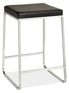 Collins Counter, Bar, Dining Stools with Leather Seat - Counter & Bar Stools - Dining - Room & Board