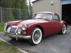 1959 MGA Coupe (my third car was a '57 MGA Coupe, very similar)