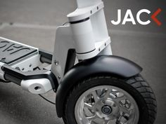 JAC< electric scooter by LEEV mobility, via Kickstarter.