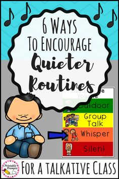 Establishing Quiet(er) Classroom Routines is definitely a challenge at the start of the year, especially if you have a chatty class! This back to school season read on to find out some classroom management tips to help keep your students focused. Classroom Management Techniques, Kindergarten Classroom Management, Classroom Routines, Classroom Procedures, 2nd Grade Classroom, Special Education Classroom, Classroom Design, Teaching Kindergarten, School Classroom