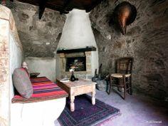 Αξιοζήλευτη γωνιά σε Κρητικό καμαρόσπιτο !!!  Traditional cretan house !!!