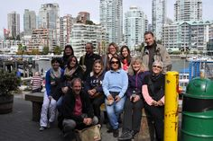 Group Granville Island Rocky Mountains, Vancouver, Granville Island, Group, Western Canada, Motor Boats, Explore, Train