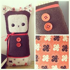 Patchwork Bear - Paper Forest