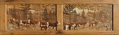 Christine Pollier - Poya Photos, Pictures, Decoupage, Painting, Painting On Wood, Switzerland, Mountain, Landscape, Painting Art