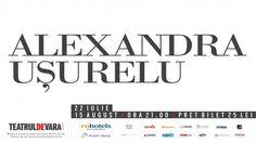 Alexandra Ușurelu, la Jupiter | Bilete Litoral