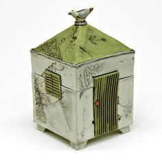 'The green door' Dream box by Catherine Brennon www.underbergstudio.co.za