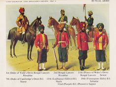 Bengal Lancers - British Indian Army