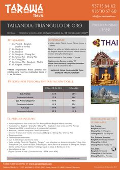 Tailandia Triangulo de Oro.Especial Noviembre/Diciembre. 8días desde 1363 euros persona ultimo minuto - http://zocotours.com/tailandia-triangulo-de-oro-especial-noviembrediciembre-8dias-desde-1363-euros-persona-ultimo-minuto/