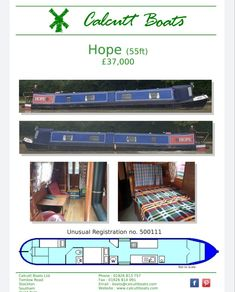 1986 55-ft—Mike Gration Hull. Calcutt fit-out BMC1.5 with a PRM gearbox. From the stern:- Enter through the rear doors to the engine room. 2x bunks and a wet room style bathroom with a pump-out toilet. Fixed double bed, corridor with washbasin and a storage cupboard. x2 side doors, with gas cooker, stainless steel sink & 12-volt fridge. The cabin with a saloon and free-standing furniture plus a multi-fuel stove. Boat safety until June 2021. Of interest is the unusual CRT number 500111. Multi Fuel Stove, Boat Safety, Stainless Steel Sinks, Cupboard Storage, Room Style, Wet Rooms, Side Door, Boats For Sale, Bathroom Styling