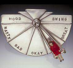 mood swing brooch