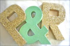 JUMBO Glittered Letters or Numbers, Wedding, Bridal Shower, Home Decor, ANY COLOR by SwoonPartyShop on Etsy https://www.etsy.com/listing/169952701/jumbo-glittered-letters-or-numbers
