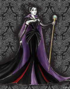 Maleficent Designer Sketch
