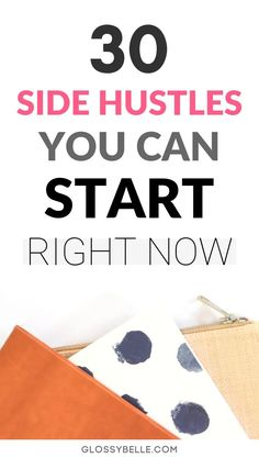 30 Amazing Side Hustles You Can Start Right Now To Earn Extra Cash Whether you're saving money for a trip, retirement, or to finally quit your desk job, here are 30 easy side hustles you can start today to earn extra cash & diversify your income stream. Earn Extra Cash, Making Extra Cash, Extra Money, Quick Money, Make Money From Home, Way To Make Money, Affiliate Marketing, Retirement Cards, Early Retirement