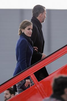 King Felipe VI and Queen Letizia of Spain visit France 3/23/2015