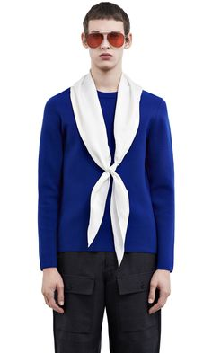 ACNE STUDIOS Lang Wool      Electric Blue. #acnestudios #cloth #