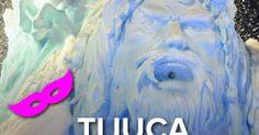 Carnaval suíço da Unidos da Tijuca joga neve e chocolate na Sapucaí