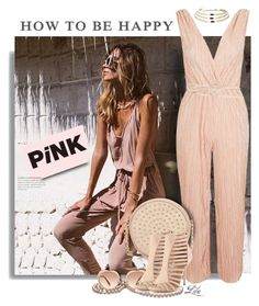 """""""Think Pink"""" by breathing-style ❤ liked on Polyvore featuring Neiman Marcus, Miu Miu, MANGO and Boohoo"""