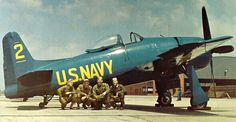 Blue Angels - late 1940's F8F Bearcat