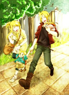 Edward And Winry Family