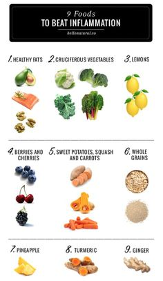 9 foods for inflammation