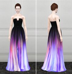Elie Saab dress 2 by Rusty Nail - Sims 3 Downloads CC Caboodle