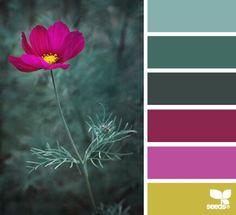Nature tones palette