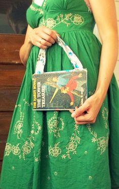 Hardy Boys Mystery Book Purse