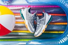 Additional detailed images of the Nike LeBron 13 Low Summer Pack is featured…