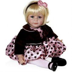 Boneca Adora Pink Posh Adora Dolls - Megazim