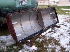 55 gal drum snow plow blade
