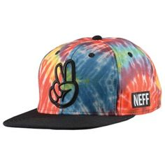 Neff Tie Dye Snapback - Men's at CCS