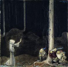"""John Bauer 1913 """"Broder Martin"""" av Emil Eliasson, """"Bland Tomtar och Troll"""""""