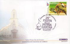 04 - 1a Emisión del Bicentenario - 25ta Fiesta de la Patria Gaucha - Esporas