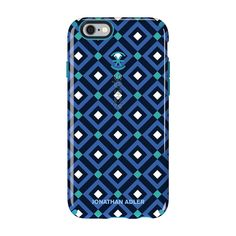 Speck iPhone 6/6s CandyShell Inked Johnathan Adler - Blue Gio / Peacock Glossy
