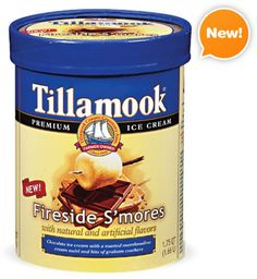 tillamook fireside smores ice cream.. and link to other s'mores treats